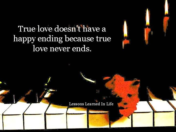 True love never ends..