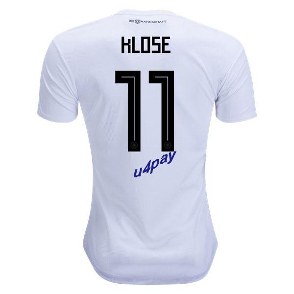 Miroslav Klose 11 2018 Fifa World Cup Germany Home Soccer Jersey Fifa World Cup Soccer Jersey Fifa