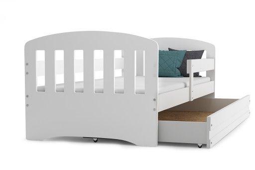 łóżko Happy Dziecięce 160x80 Materac Szuflada Mssz