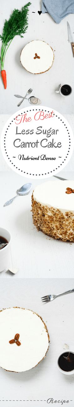 The Best Less Sugar Carrot Cake – Rebels Kitchen