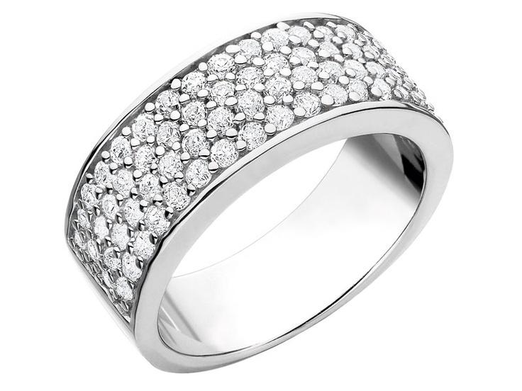 Apart - Srebro, biżuteria srebrna - Pierścionek srebrny z cyrkoniami