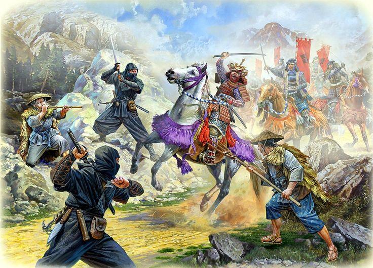 Ninja ambush samurai  Zvezda  Armia Azji  Samurai