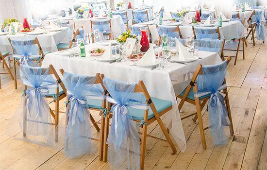 Декорирование свадьбы в кафе «Море внутри»