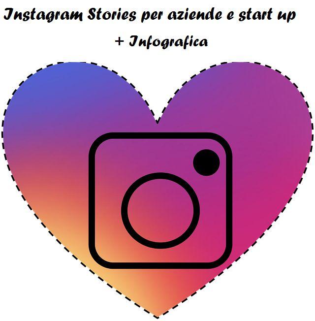 Instagram Stories:  come utilizzarle in modo efficace per la propria azienda o start up + Case History + Infografica