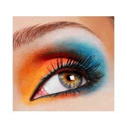 LoveDay Makeup, Eye Makeup, Dramatic Eye, Blue Orange, Makeup Looks, Makeup Eye, Eye Art, Blue Eyeshadows, Crazy Makeup