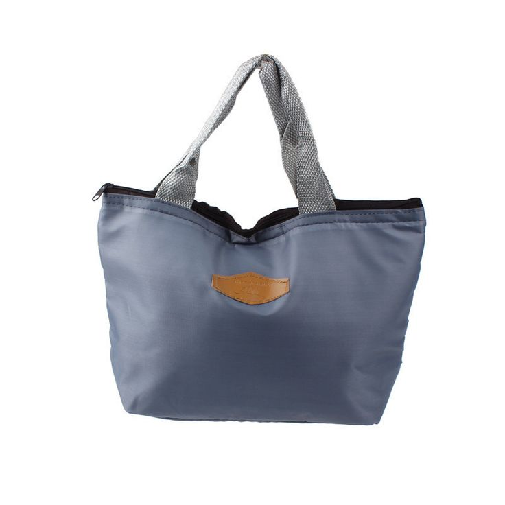 High Quality Insulated Tote Lunch Bag Picnic Box Waterproof Canvas Cooler Thermal Food Hand bag lunchbox Dropshipping