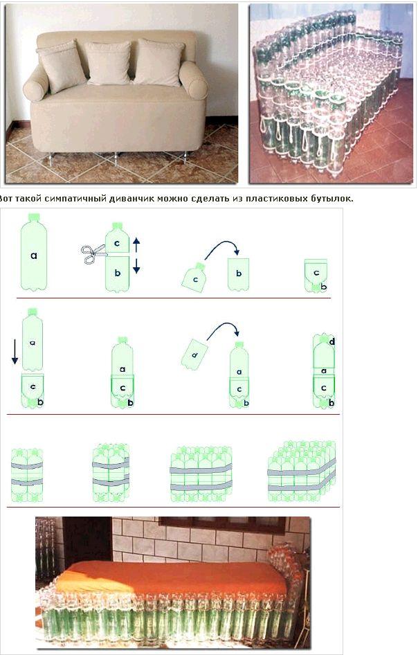 мебель из пластиковых бутылок своими руками: 23 тыс изображений найдено в Яндекс.Картинках