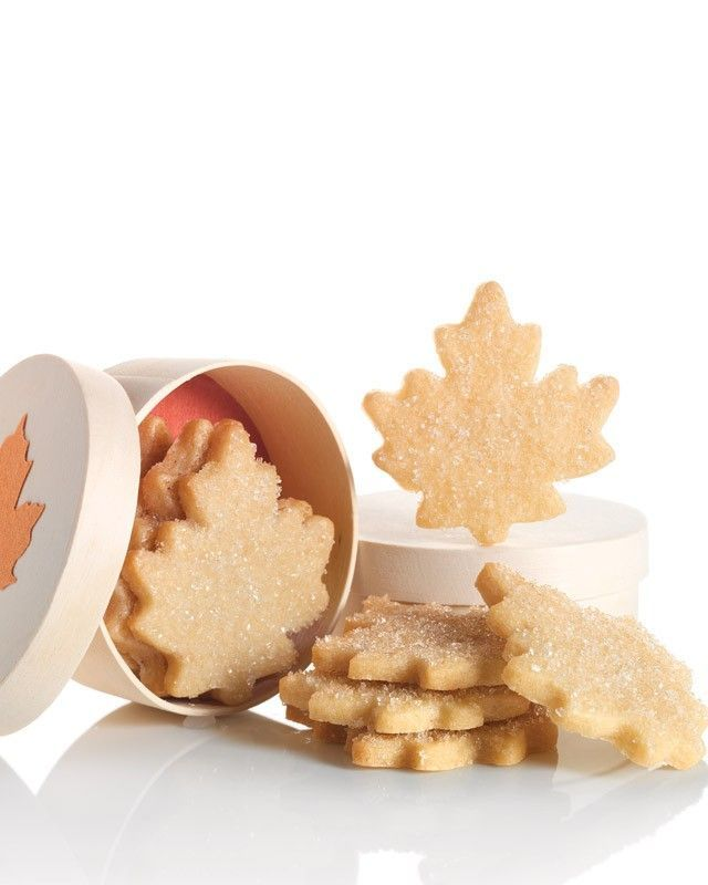 With a nod to the north, these buttery sugar cookies pack a delicate crumb and a pure-maple oomph. Package them inside maple-leaf boxes for a great fall gift.