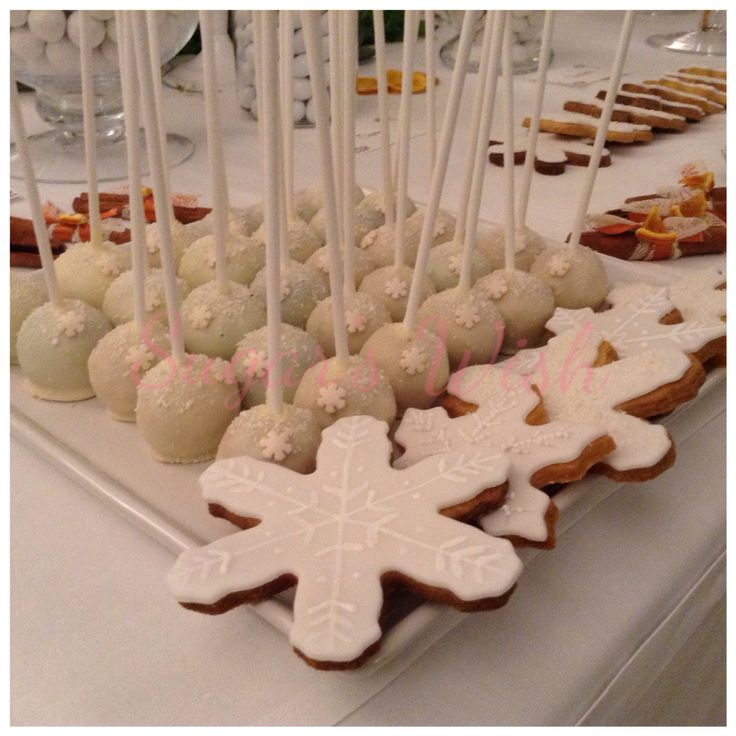 Popcake and cookies