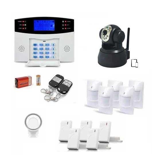 Soldes Alarme maison ManoMano, achat ALARME maison sans fil EGYLm2bx5ip 99 zones XL et caméra IP pas cher prix Soldes ManoMano 220.00 € TTC au lieu de 245.00 €