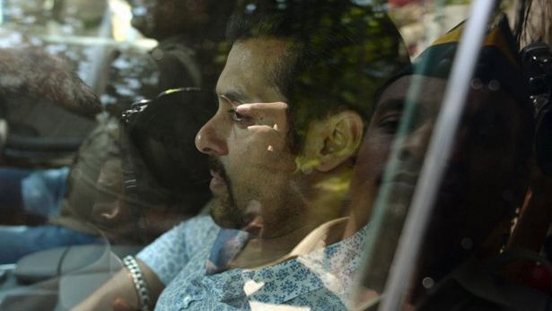 MUMBAI: Bollywood star Salman Khan, known for his bulging biceps and off camera tantrums, faces prison if found guilty this week of drunken driving more sleeping homeless men 12 years ago, killing one of them.