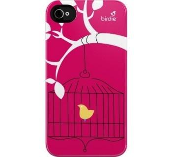 Uncommon Birdie iPhone 4 / 4S Deflector Case - Birdcage Pink - £29