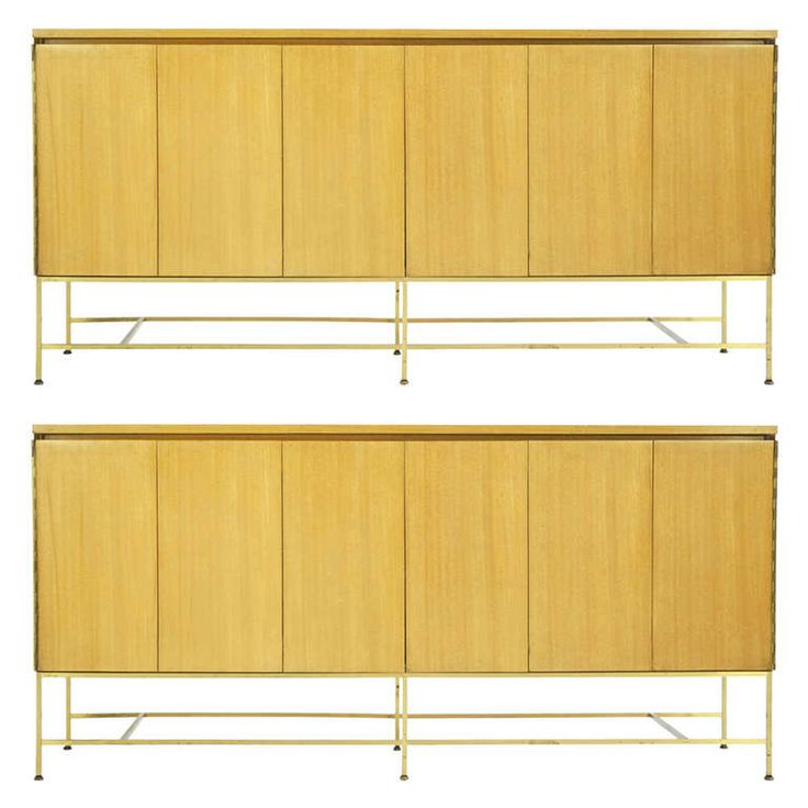 pair of paul mccobb cases from a unique collection of antique and modern cabinets at