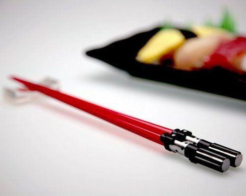 Lightsaber Chopsticks: Geek, Darth Vader, Gadgets, Stuff, Trav'Lin Lights, Stars War, Lightsaber Chopstick, Lights Saber, Starwars