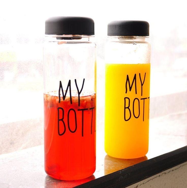 Botol gaul yang lagi banyak dicari di KOREA JEPANG dan CINA!! Ayo sebelum banyak yang pake biar kamu jadi trendsetter!! Baru kejual 863 botol nih -------------------- KEREN untuk: Olahraga infused water Dijual lagi  Sebagai hadiah  Hadiah buat anak -------------------- -HARGA: 69.000 -WARNA: HITAM PUTIH BIRU KUNING HIJAU PINK -material : Tritan (BPA Free) -Diameter : 6.5cm -Height : 19.5cm -Volume : 450ml - 500ml -Usage Temperature : -40  100 -No microwave -Include penahan supaya ketika…