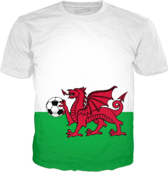 """We may be small, but we're coming for the crown."" Wales and pixels share a lot in common. Congratulations Gareth Bale and the entire Wales national football team for making it to the knockout round of UEFA Euro 2016! June 24th, 2016 Check out my new product https://www.rageon.com/products/pixel-dragon-on-the-pitch on RageOn!"