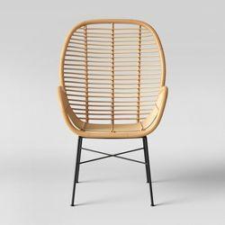 Mid Century Modern Molded Arm Chair With Wood Leg Dorel Home