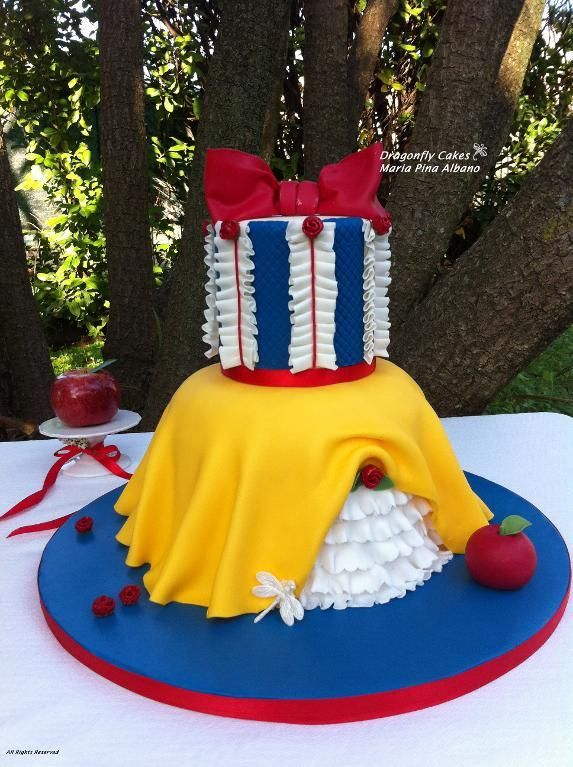 Southern Blue Celebrations Snow White Cake Ideas