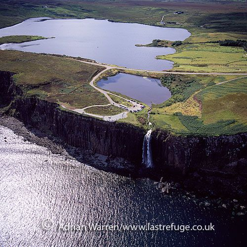 Kilt Rock Waterfall - Isle of Skye (heading north from Portree heading for Flodigarry) Photo by: Adrian Warren