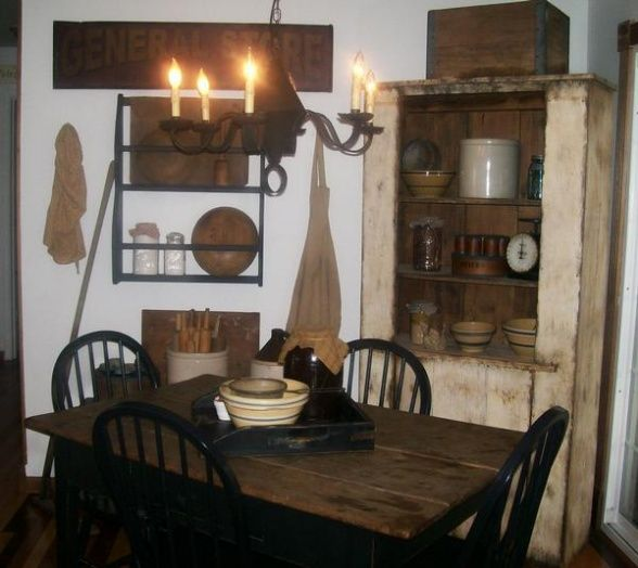 Wonderful Primitive Dining Room Ideas Part - 9: Primitive Decor Rooms | Primitive Dining Room - Dining Room Designs - Decorating  Ideas - HGTV