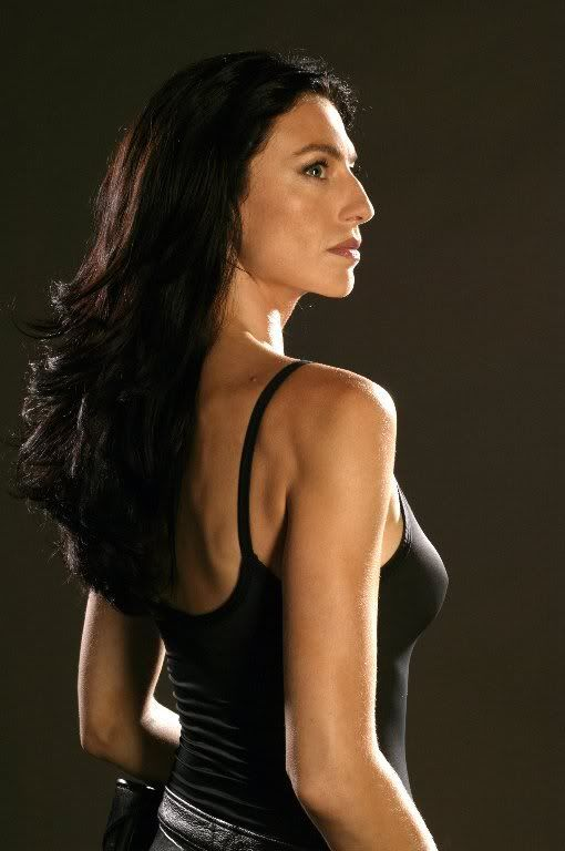 It took a little while to figure out but Claudia Black, of Farscape and Stargate, would be a good fit as Brynna Alexander, vampire/author.