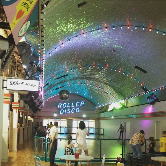 Dreamland roller disco, Margate