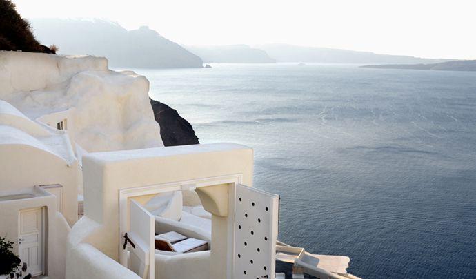.: Santorini Greece, Favorite Places, Mystique Resorts, Mystique Hotels, Places I D, The Village, Travel, Mystique Santorini, Ocean View