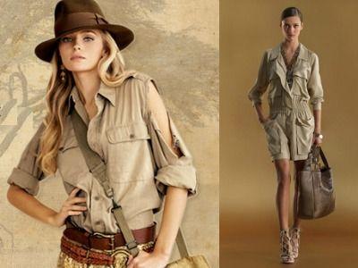 Купить одежду стиль сафари
