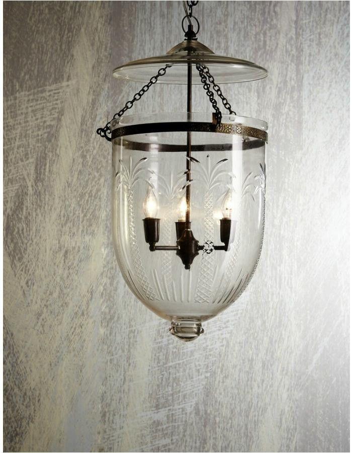 Belljar Lantern Glass Pendant Lights