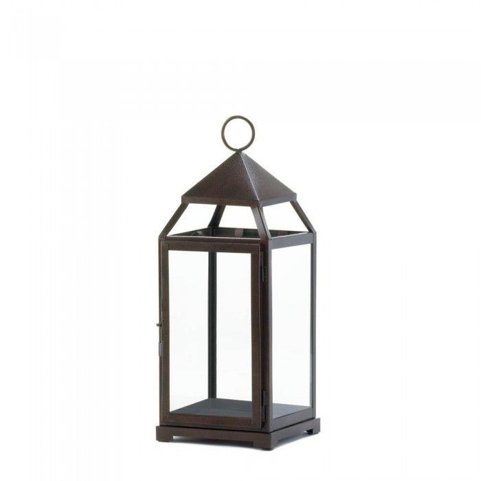 Gallery of Light 10016943 Large Bronze Contemporary Lantern