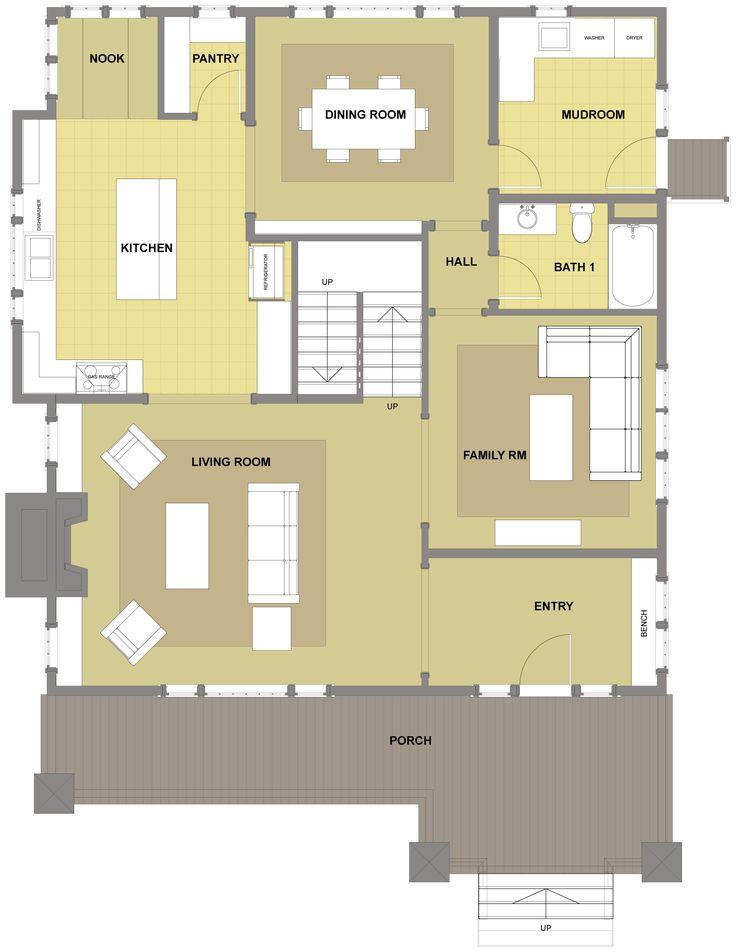 30 best Craftsman Bungalow Floor Plans images on Pinterest