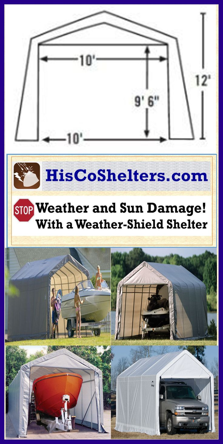 Portable Privacy Shelter For Boats : Best how to build a portable carport ebook images on