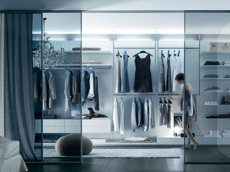Best Walk In Closet Designs:lovely Inspiring Walk In Closet Design Black  Stained Wood Floor Material Glass Room Divider With White Squared Mat  Rounded ...