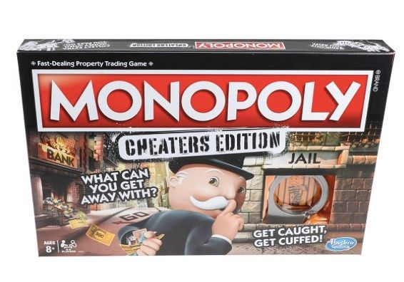 Hasbro released a Monopoly game Cheaters Edition. Here is what they said A recent study conducted by Hasbro revealed nearly half of game players attempt to cheat during Monopoly games so in 2018 we decided it was time to give fans what theyve been craving all along  a Monopoly game that actually encourages cheating. . . #travel #traveller #travels #travelgram #wanderlust #instatravel #traveling #travelling #travelphotography #nature #traveler #igtravel #mytravelgram #explore #travelingram…