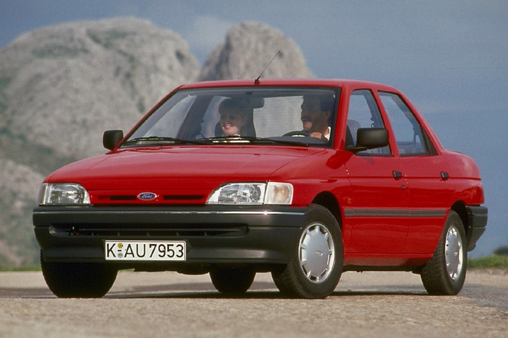 Ford Orion 1.8 Ghia Si 1992 — Parts & Specs