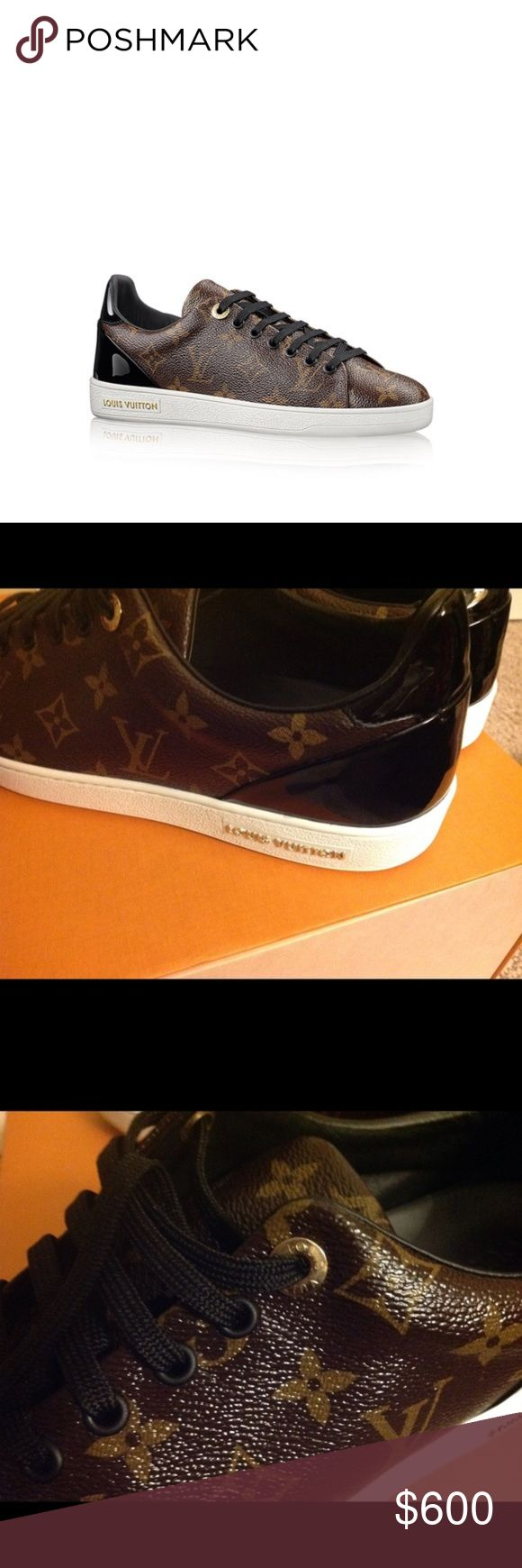 Louis Vuitton Sneakers Authentic.  Excellent Used Condition.  Worn once for few hours.  These are UK 41 and fit true to size.  Comes with dustbag and box.  Price is firm unless I send a private offer. Louis Vuitton Shoes Sneakers
