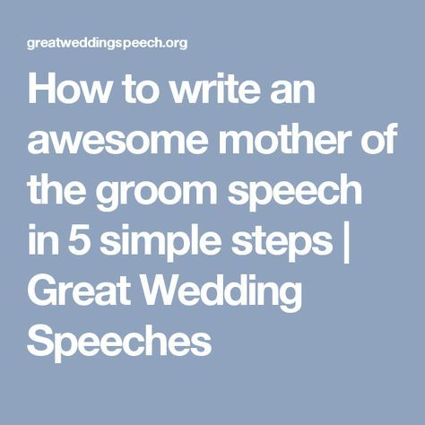 25 Best Ideas About Groom Wedding Speeches On Pinterest