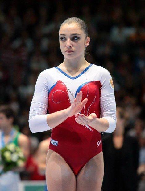 Gymnastics Aliya Mustafina Leotard And 2013 World
