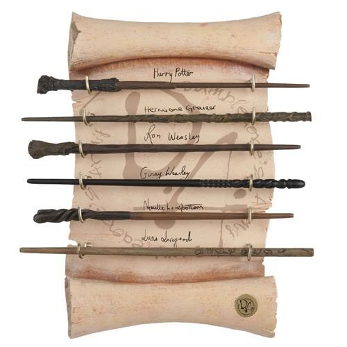 Harry Potter Dumbledore's Army Wand Set Authentic Noble Collection Luna Lovegood | eBay