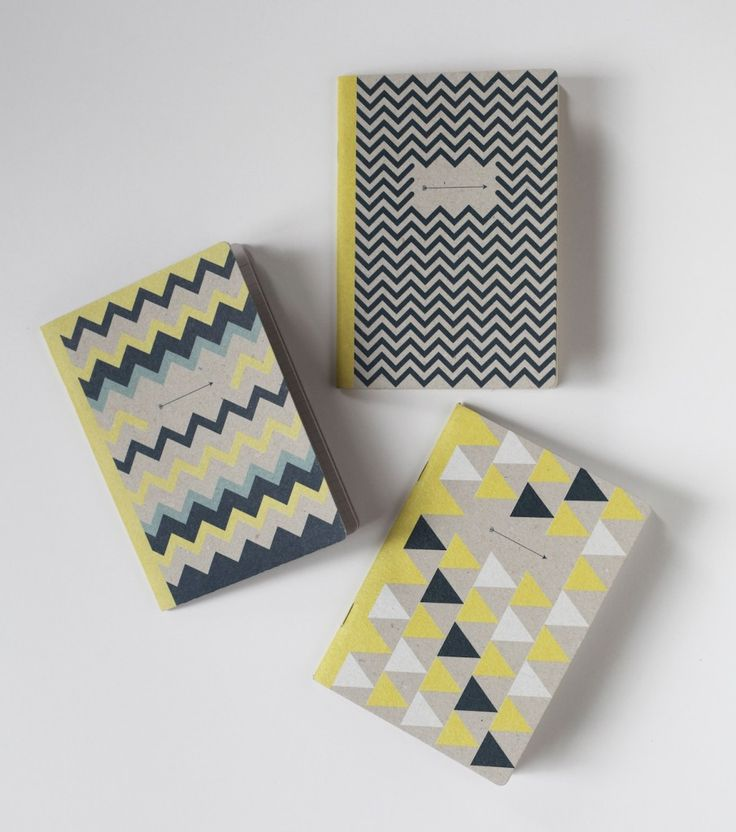 Papier Tigre X Tigersushi notebook / The Indians – 3 pocket notebooks, one ruled, one plain and one squared to note and draw