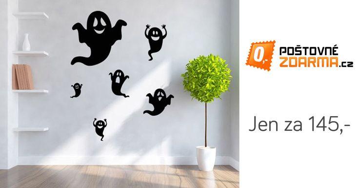 Tato samolepka na zeď potěší všechny, kteří mají rádi duchovno a strašidelné příběhy, ve kterých se objevuje nadpřirozeno. Samolepka se také skvěle hodí jako halloweenská dekorace. Nanášejte ji na hladký a čistý povrch.