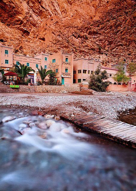 Morocco - Todra Gorge via John & Tina Reid
