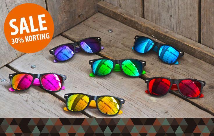 ☼ SALE ☼ Meer dan 30% korting op je hippe zonnebril! Shop hier met korting: https://www.brillenkopen.nl/sale #sale #zonnebrillen #zonnebril #zon #zomer #zee #strand #mode #trend #korting #aanbieding #kopen #mirror #wayfarer #happy