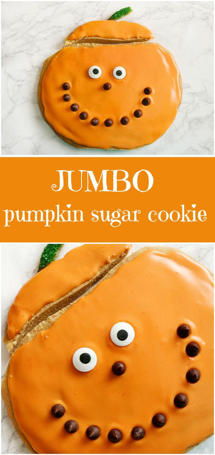 This Jumbo Pumpkin Sugar Cookie is very easy to make, and sure to be a hit at…