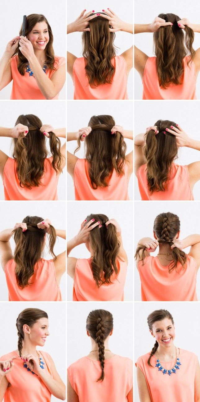 From French braids to fishtails, here are three basic braids to get you prepped and ready for all sorts of braided hairstyles.