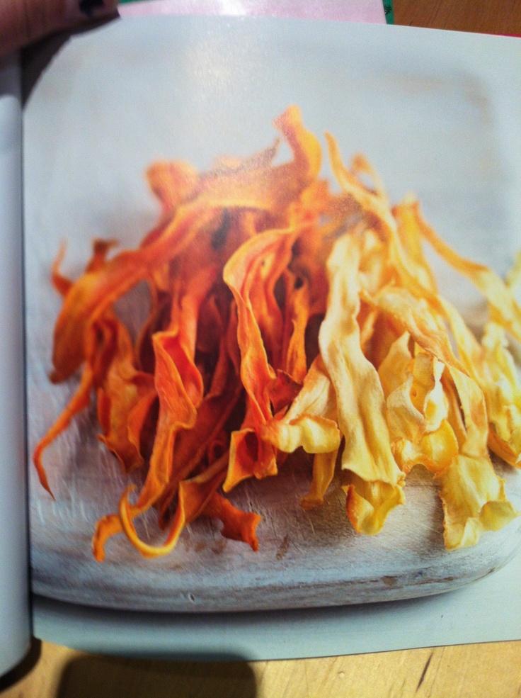 Parsnip and Sweet Potato crisps | Food & Party | Pinterest