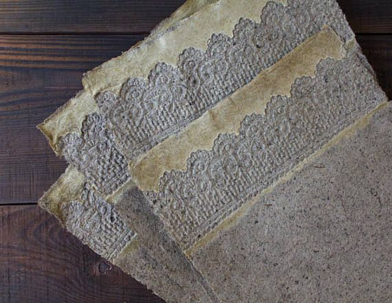 Handmade Paper Sheets Decorative Paper Lace Paper 00