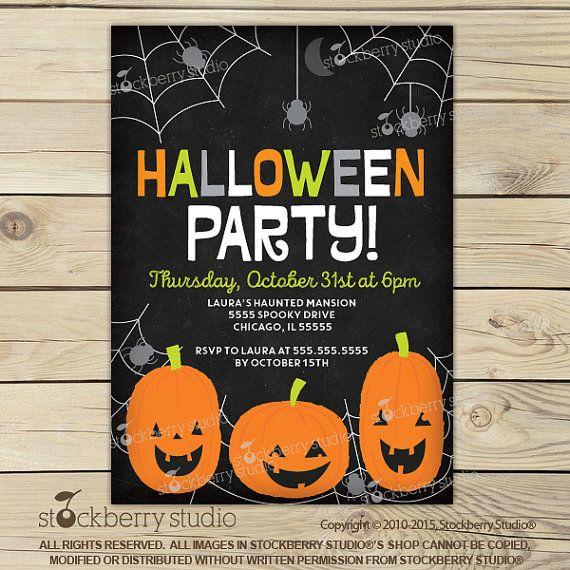 Best 25+ Halloween Invitations Kids Ideas On Pinterest