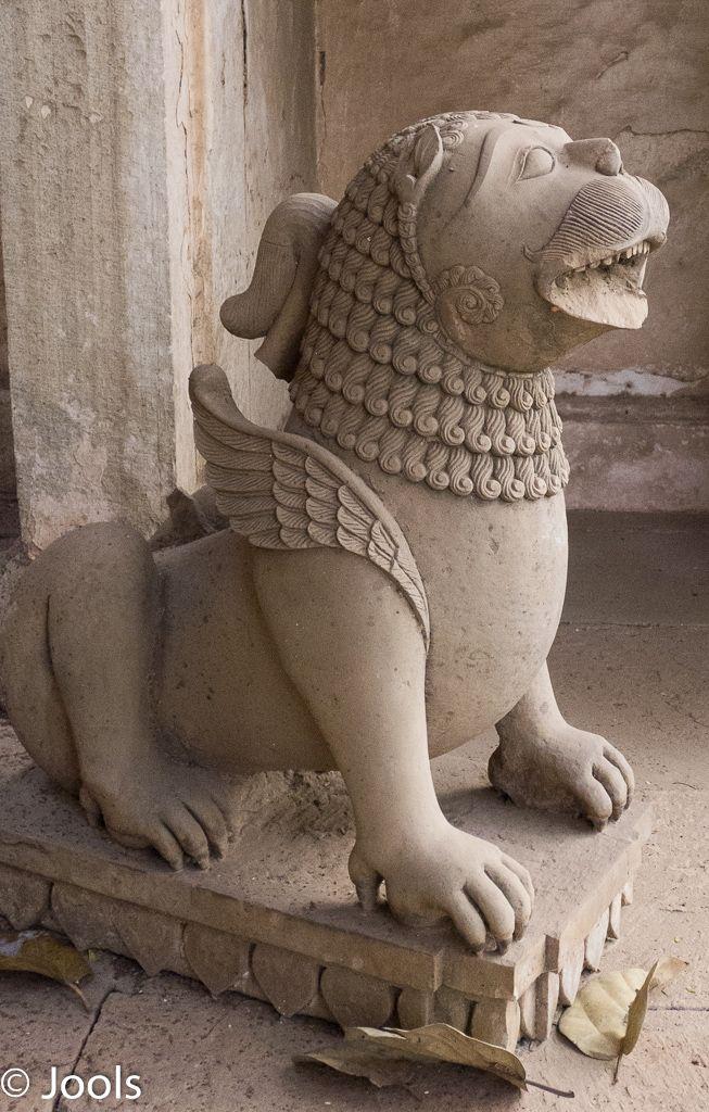 Sculpture in a mausoleum, Deo Bargh.
