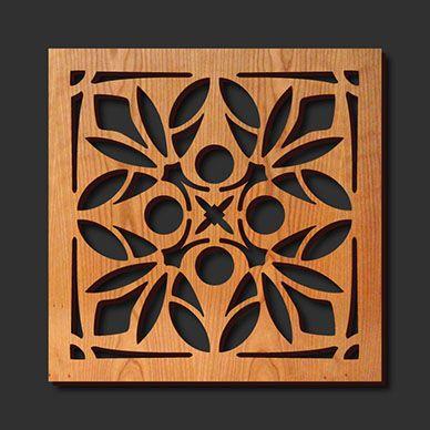 Decorative Trivets | Decorative Laser Cut Wood Trivet